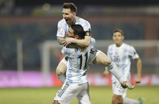 Messi stars as Argentina set up Copa America semi v Colombia