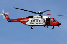 Man rescued by helicopter after getting into difficulty surfing in Clare