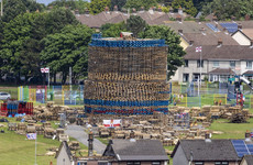 Northern Ireland committee head apologises for 'offence' caused by bonfire tweet