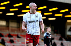 In-form Georgie Kelly enjoying being the main man again with Bohemians
