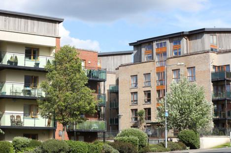 Apartment complexes in Ashtown, Dublin.