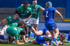 Ireland U20s come out on top of seven-try thriller against Italy