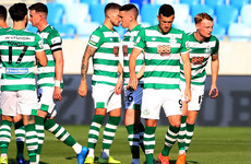 Shamrock Rovers left with uphill task after Champions League first-leg loss