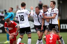David McMillan makes history, as Dundalk get European run off to excellent start