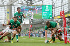 Stuart McCloskey aiming to make the most of his rare chance with Ireland