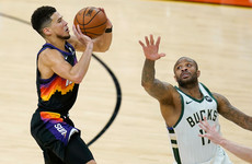 Devin Booker stars as the Suns blow away the Bucks in Game 2