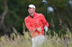 Rory McIlroy disturbed on tee at Scottish Open as man grabs club from his bag