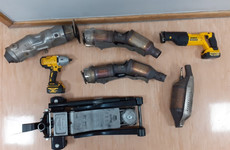 Two people arrested after gardaí seize stolen catalytic converters in north Dublin