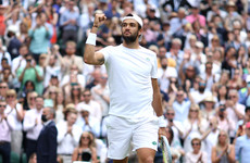 Berrettini sees off Federer's conqueror to make Italian history at Wimbledon