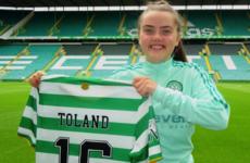 Celtic snap up Ireland midfielder Toland