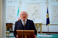 President Higgins signs rent increase bill into law