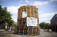 DUP says Belfast bonfire row should never have gone to court