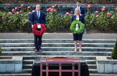 Sinn Féin's O'Neill lays wreath at Battle of the Somme commemoration in Dublin
