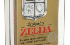Unopened Legend of Zelda game from 1987 sells for $870,000