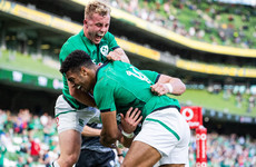 Andy Farrell: 'The new caps should be proud of how they handled themselves'