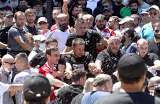 TV cameraman dies following beating from far-right gang in Georgia