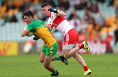 McBrearty kicks late winner as Donegal squeeze past Derry