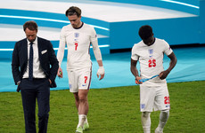 Southgate accepts responsibility for penalty 'gamble' in Euro 2020 final