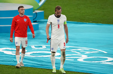 'Worst feeling in the world': Kane pain as England lose Euro final on penalties