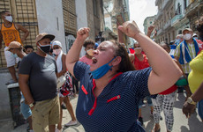 Thousands take to the streets in Havana to protest food shortages and rising prices