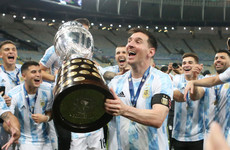 Messi dedicates Copa title to family, country and Maradona