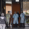 Australian apartment blocks placed in hard lockdown in efforts to curb Covid outbreak
