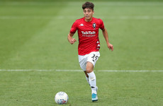 Welsh forward signs for Finn Harps from Salford City