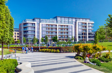 Luxury apartments with impressive amenities close to the coast in Dún Laoghaire