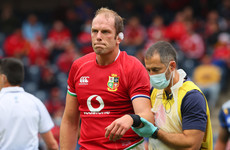 Tour captain Alun Wyn Jones will re-join the Lions tomorrow