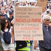 French police fire tear gas as thousands protest against Covid vaccine rules