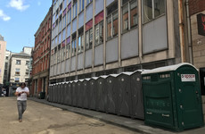 Vast majority of portable loos removed from Dublin city centre due to 'lack of use'