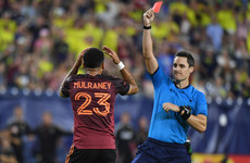 MLS reprieve for Irish winger as controversial red card is overturned