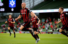 Bohemians turn on the style at the Aviva to give 6,000 supporters a night to remember