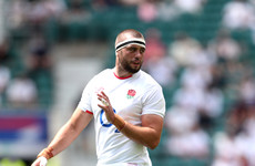 England flanker given 4-match ban for striking with knee