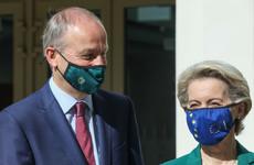 Von der Leyen says Ireland's handling of the pandemic is 'exemplary'