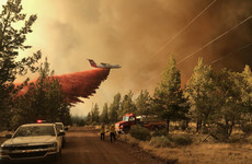 New evacuations as firefighters struggle to control raging wildfire in Oregon