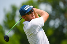 Ireland's Seamus Power within a shot of the lead in Kentucky