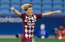Celtic make J1 League top goalscorer their fourth summer signing