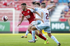 St Pat's keep pace at the summit after Forrester and Benson goals down Drogheda