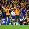 Wallabies overcome 5th-minute red card to seal series win over France
