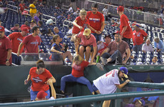 Three people shot outside US baseball stadium as fans rush for the exits