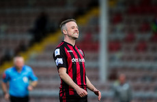 Bohemians held to draw by Longford as 16-year-old Mullins marks first start with goal
