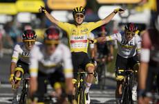 Tadej Pogacar wins second successive Tour de France