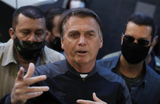 Brazil's Jair Bolsonaro leaves hospital after treatment for persistent hiccups