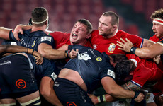 'It's big boy rugby, isn't it?' - DJ Furlong fired up for the Springboks