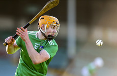 English the man of the hour as Limerick have 13 points to spare over Clare