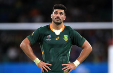 Familiarity breeds confidence for De Allende as part of powerful Springboks backline