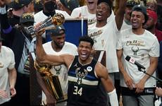 Antetokounmpo shines as Bucks end 50-year wait for NBA title