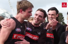 Watch: Magical moment as son-of-Derry-legend Tohill is awarded AFL debut for Collingwood