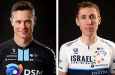 Cousins Nicolas Roche and Dan Martin riding together for Ireland 'very special'
